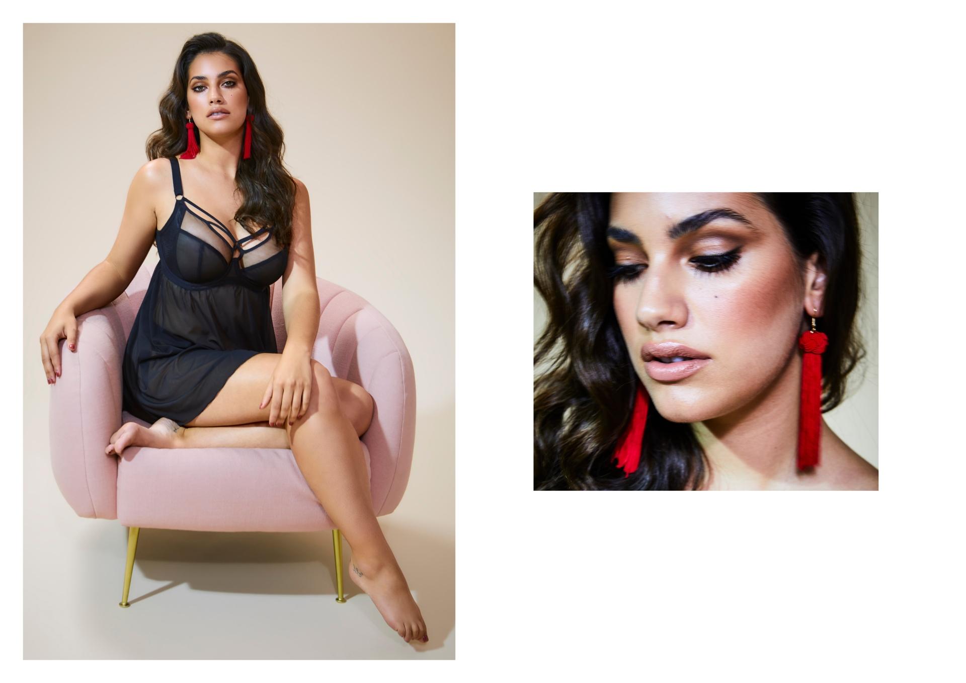 SBE lingerie test LORENA HR6